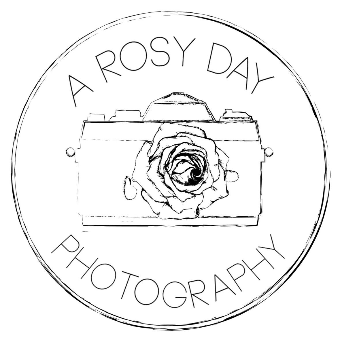 A ROSY DAY - white